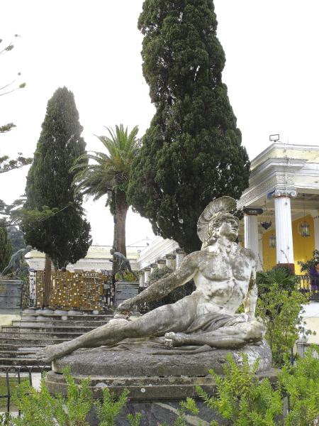 Statut d'Achille blessé