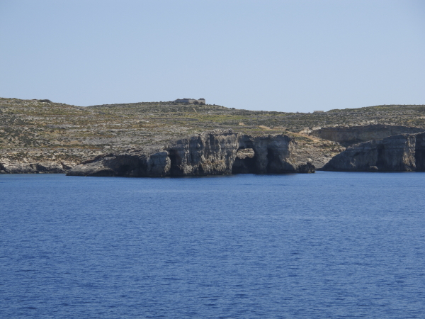 Ile de Gozo falaises