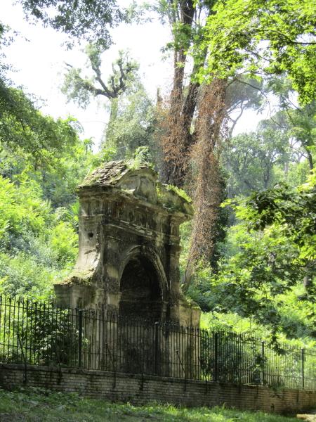 Jardin botanique de Rome