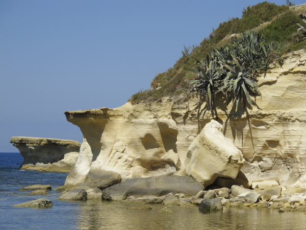 Pointe calcaire Marsalforn