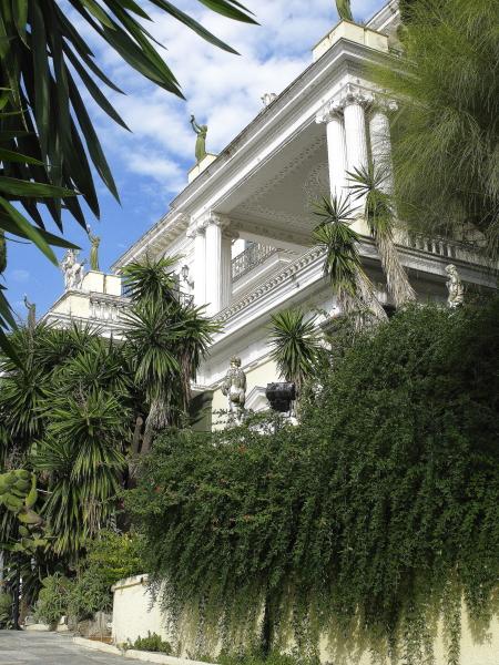 Jardin de l'Achilleion à Corfou, palais Sissi