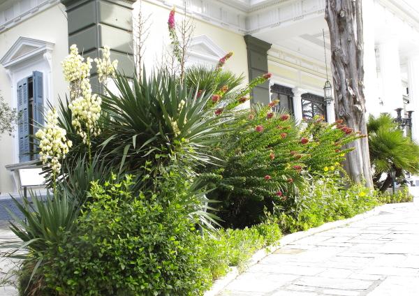 Jardin de l'Achilleion à Corfou